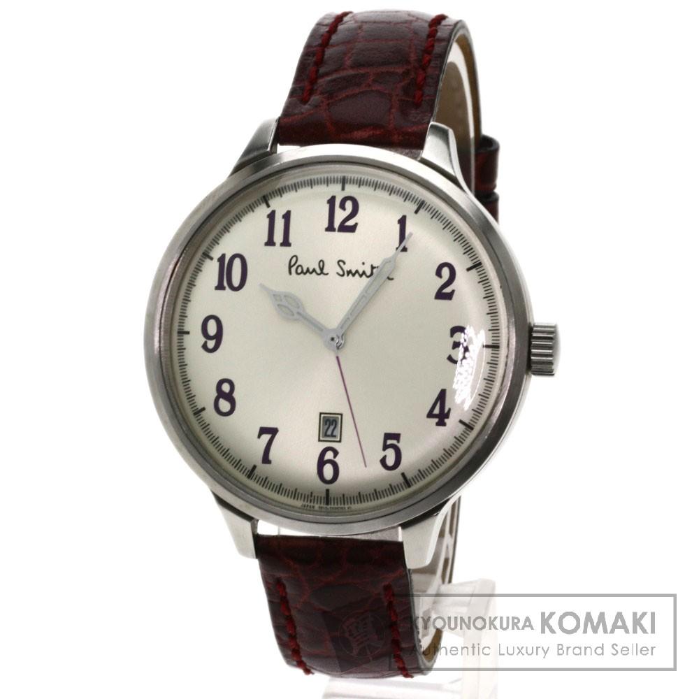 Paul Smith 5510 腕時計 ステンレス/革 メンズ 【中古】【ポール・スミス】