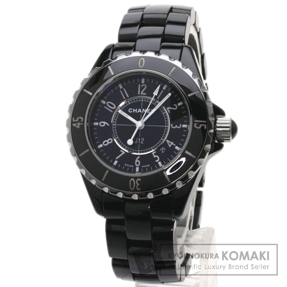 CHANEL H0682 J12 33 腕時計 セラミック/セラミック レディース 【中古】【シャネル】