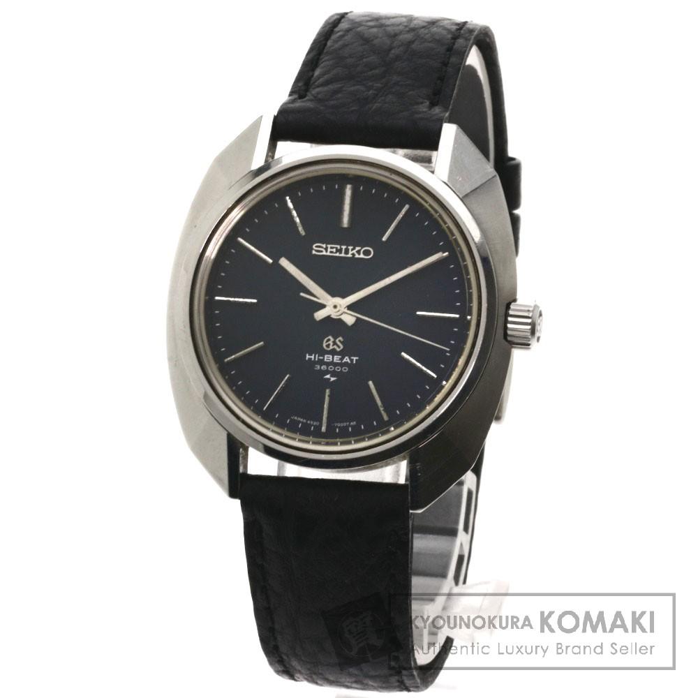 SEIKO 4520-7000 グランドセイコー 腕時計 ステンレス/革 メンズ 【中古】【セイコー】