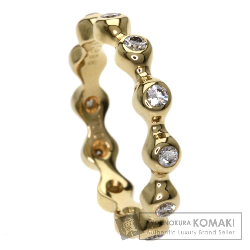CHANEL ダイヤモンド 12Pダイヤモンド リング・指輪 K18イエローゴールド レディース 【中古】【シャネル】
