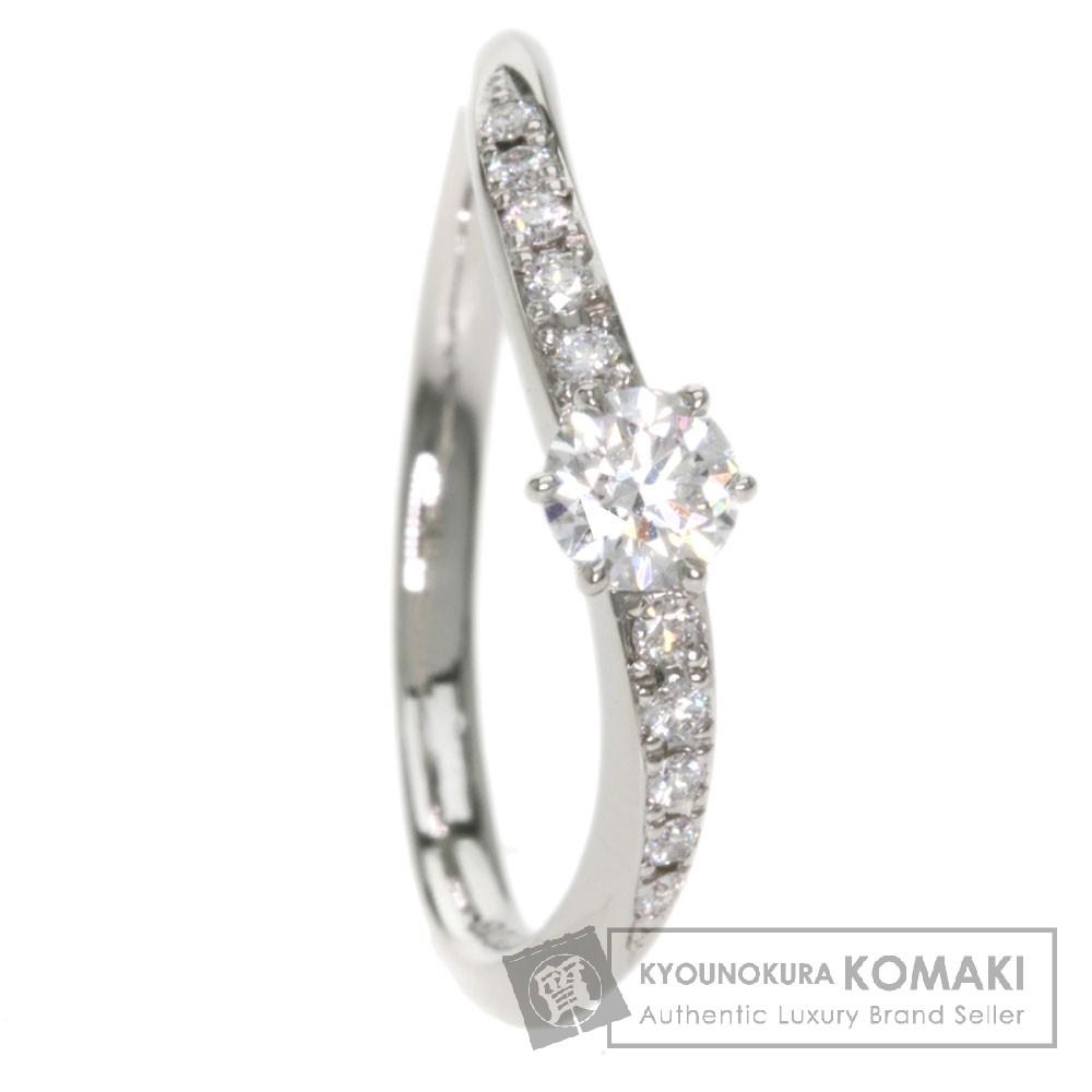 FOREVERMARK ダイヤモンド リング・指輪 プラチナPT950 レディース 【中古】【フォーエバーマーク】