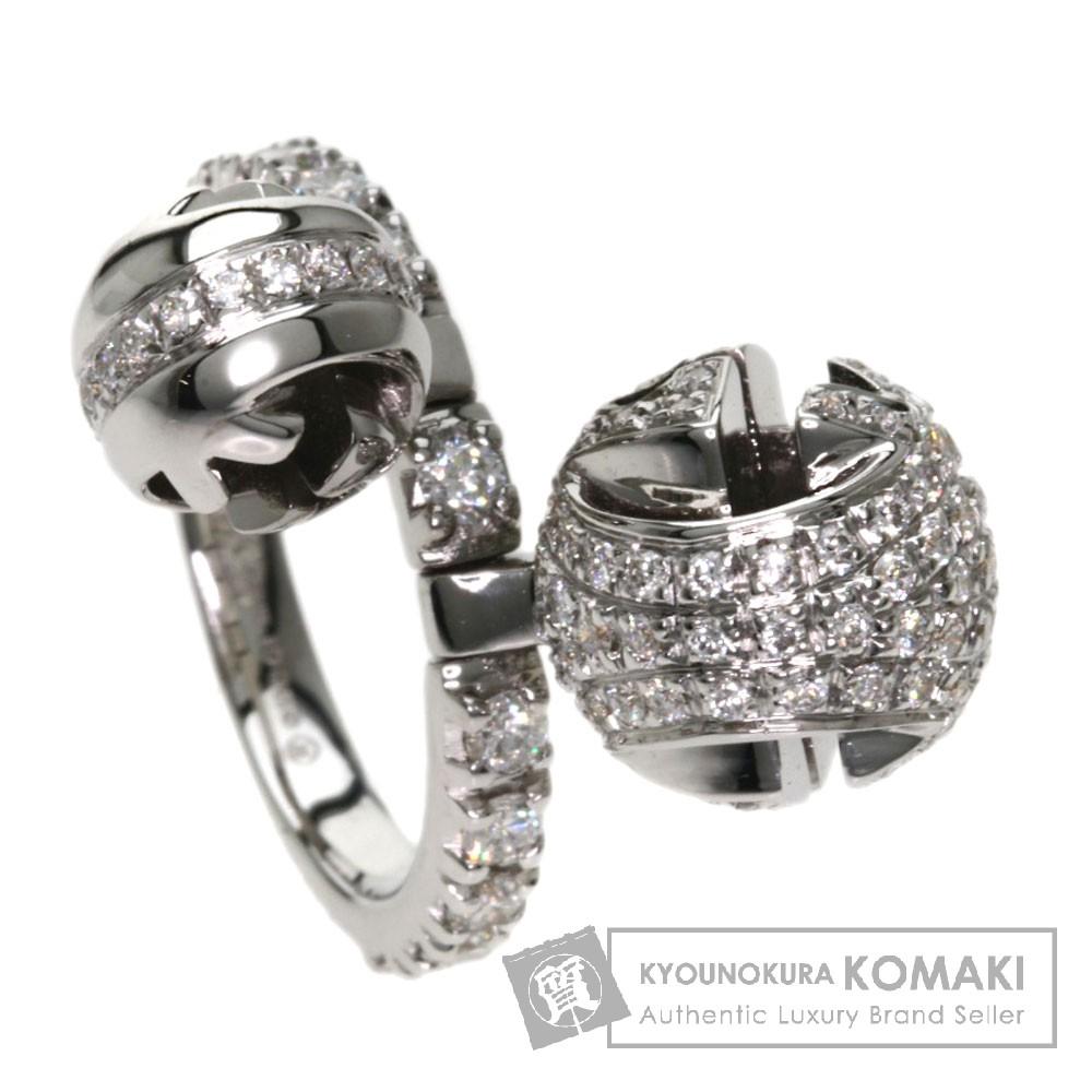 GUCCI ダイヤモンド リング・指輪 K18ホワイトゴールド レディース 【中古】【グッチ】