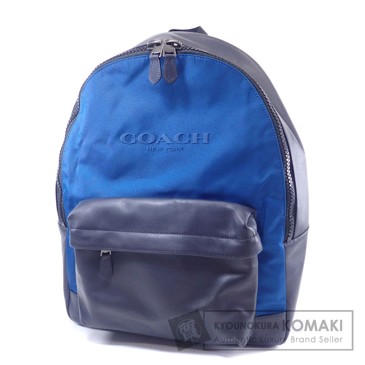 COACH F59321 リュック・デイパック ナイロン素材/レザー メンズ 【中古】【コーチ】