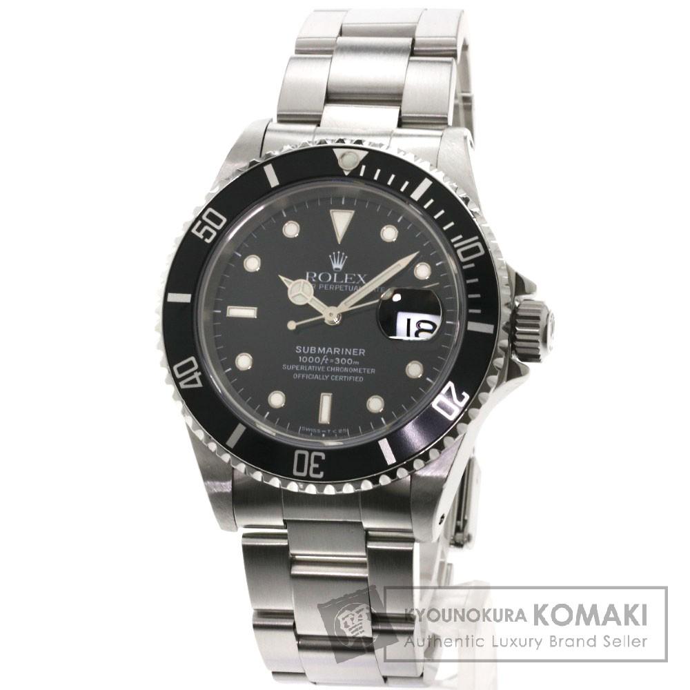 ROLEX 16610 サブマリーナ 腕時計 ステンレス/SS メンズ 【中古】【ロレックス】