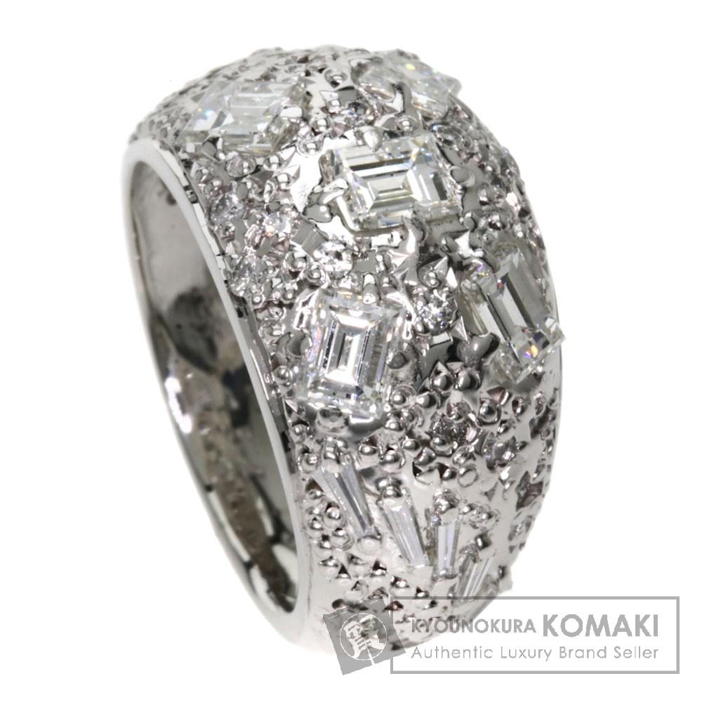 1.54ct ダイヤモンド リング・指輪 プラチナPT900 16g レディース 【中古】