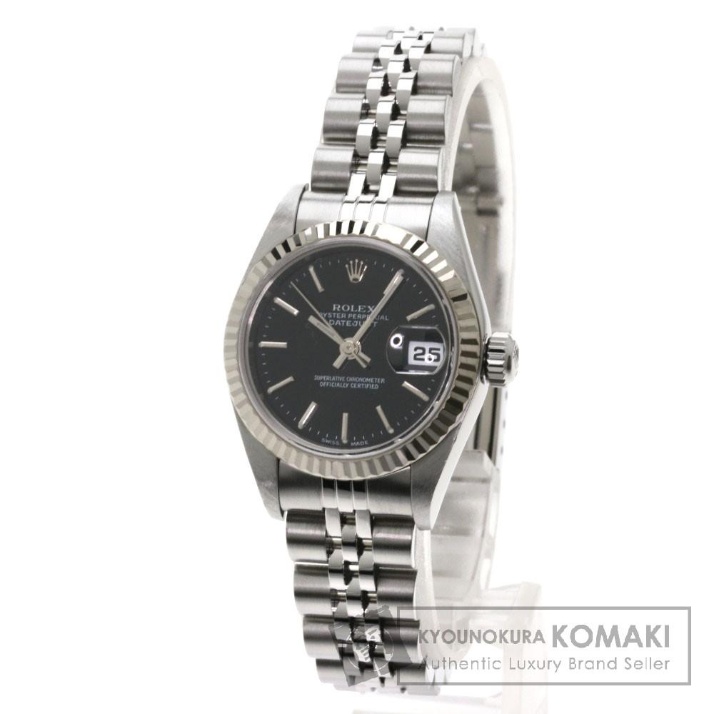 ROLEX 79174 デイトジャスト 腕時計 OH済 ステンレス/SS レディース 【中古】【ロレックス】