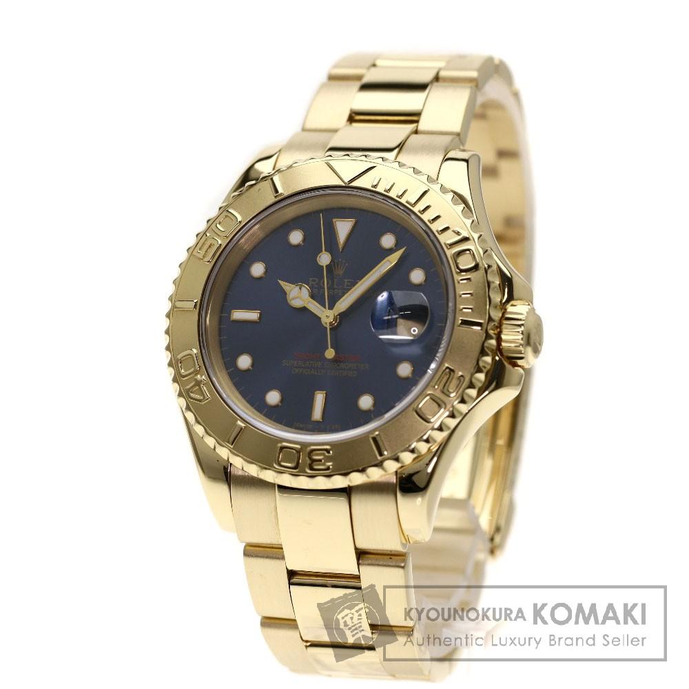 ROLEX 16628 ヨットマスター 腕時計 K18イエローゴールド/K18YG メンズ 【中古】【ロレックス】