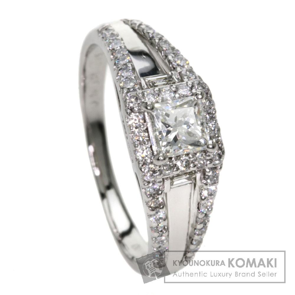 0.502ct ダイヤモンド リング・指輪 プラチナPT900 5.2g レディース 【中古】