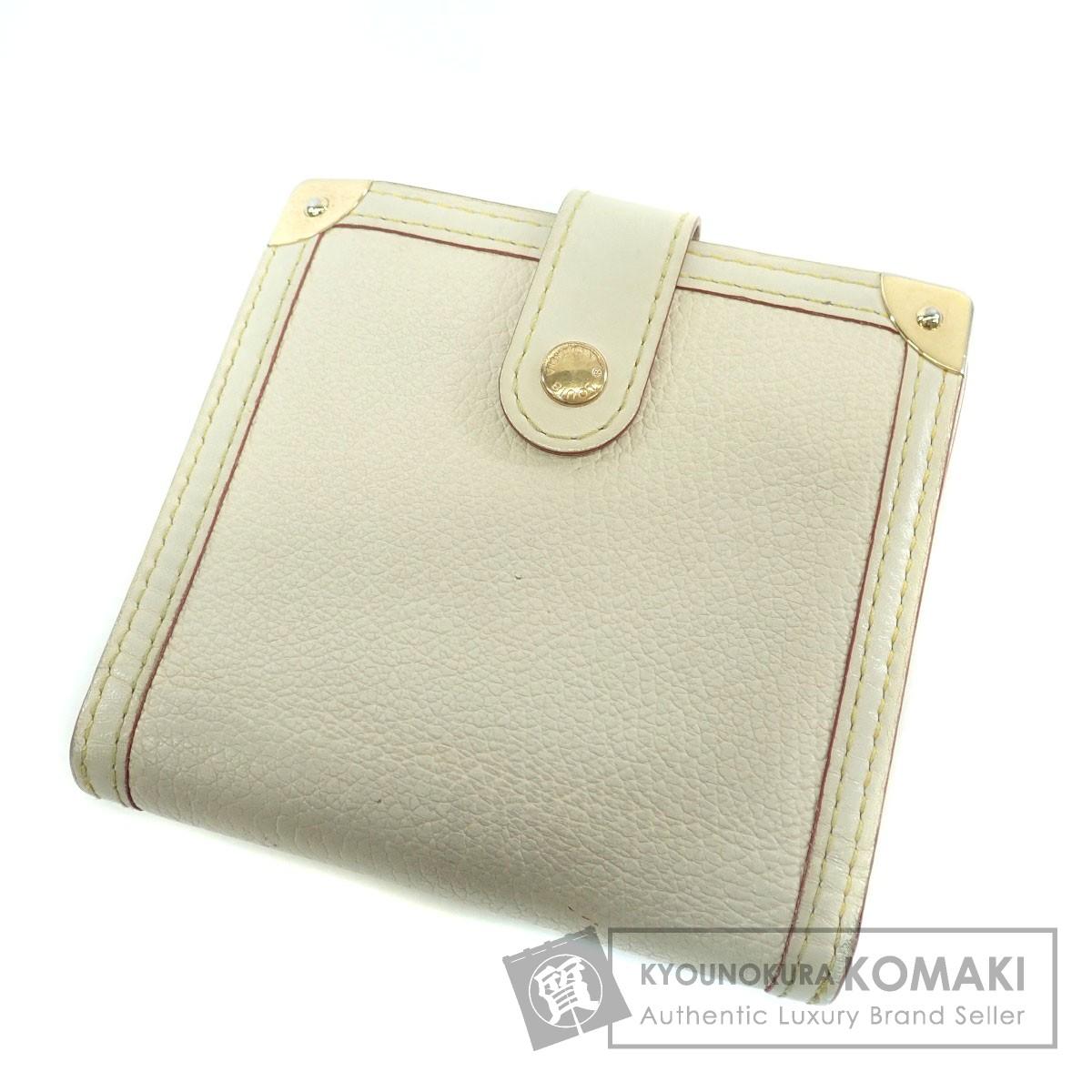 LOUIS VUITTON M91831 コンパクトジップ スハリ 二つ折り財布(小銭入れあり) スハリ レディース 【中古】【ルイ・ヴィトン】