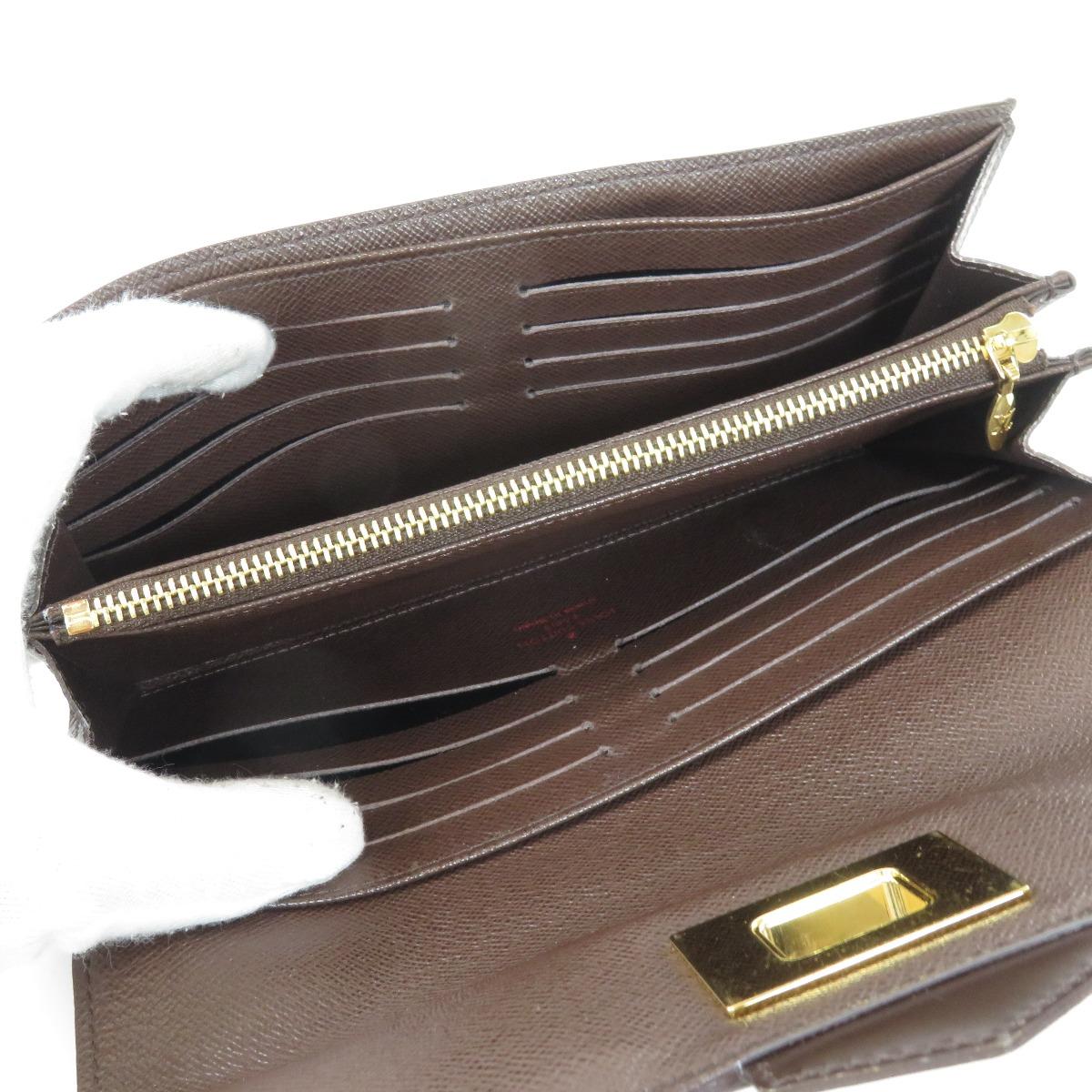 8caaeaa89e0f LOUIS VUITTON N63017 ポルトフォイユ・ローズベリー 長財布(小銭入れ ...