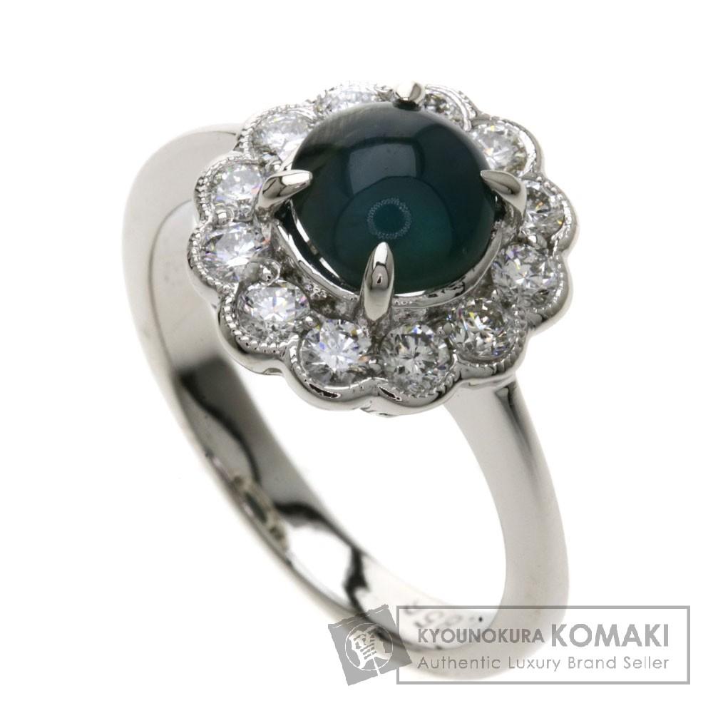 1.856ct アレキサンドライト/ダイヤモンド/ リング・指輪 プラチナPT900 6.08g レディース 【中古】