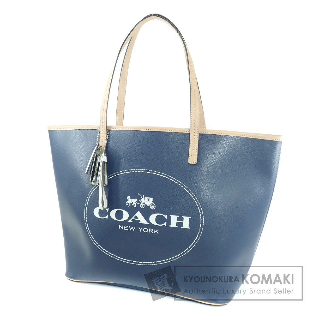 COACH F33006 トートバッグ PVC レディース 【中古】【コーチ】