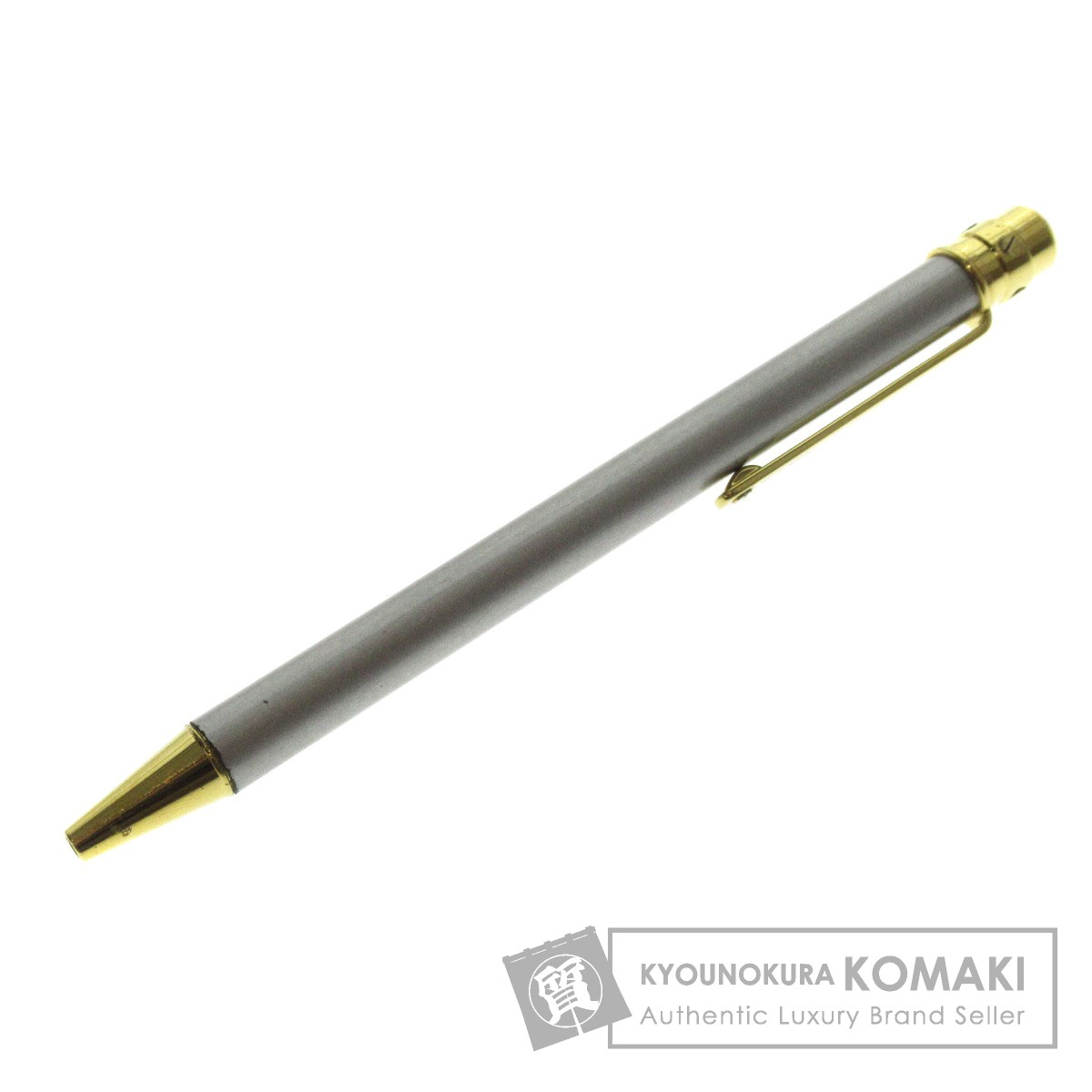 CARTIER 回転式 ボールペン 金属製 レディース 【中古】【カルティエ】