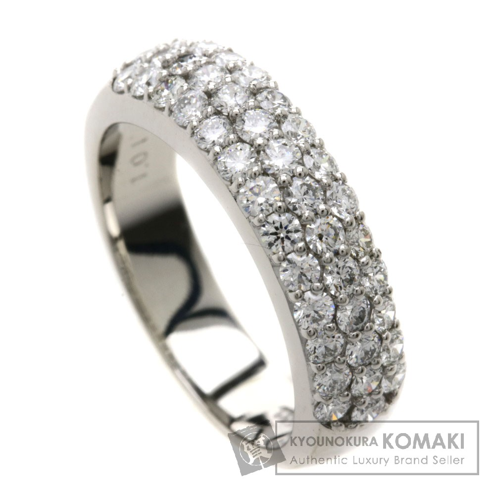 D1.01ct ダイヤモンド リング・指輪 プラチナPT900 7g レディース 【中古】