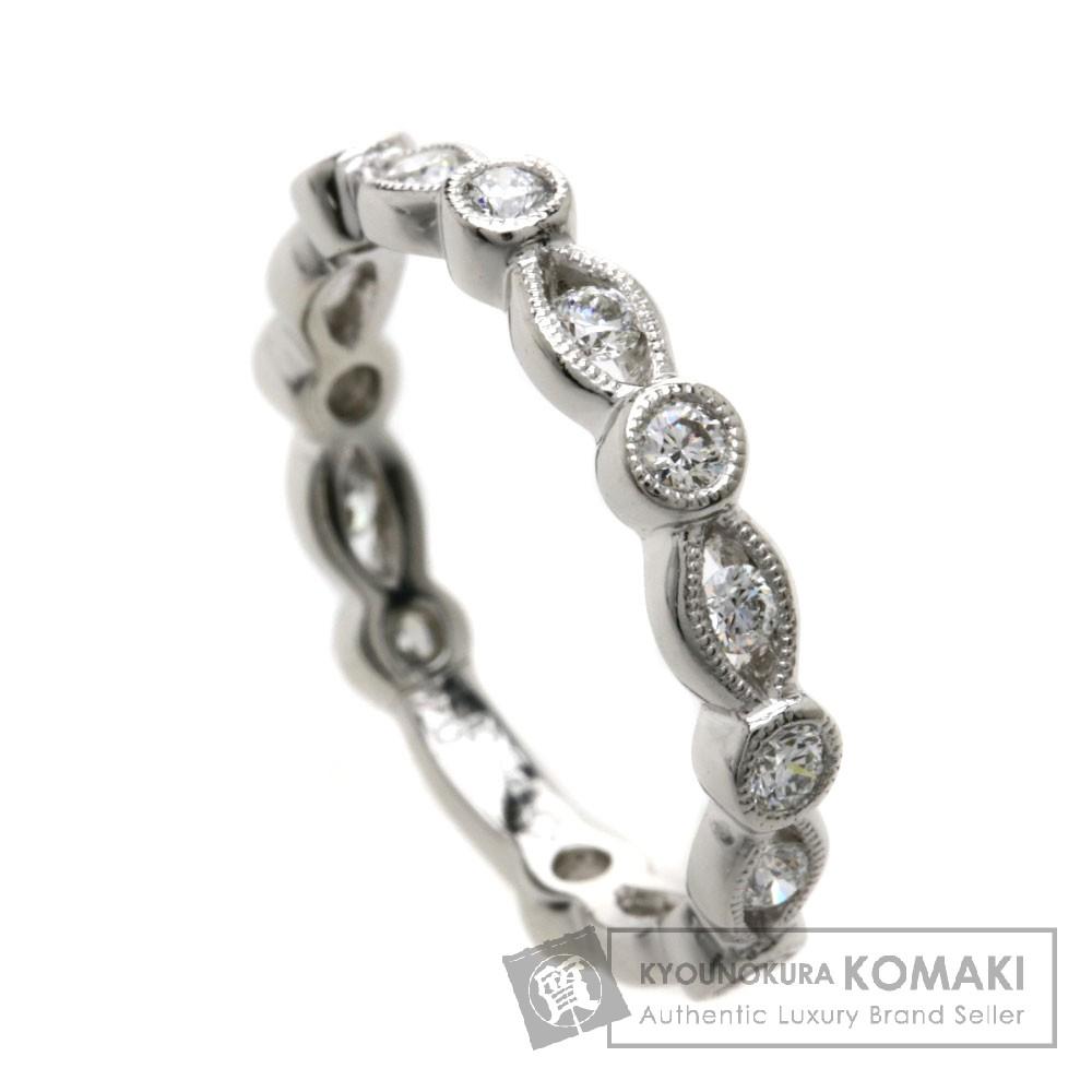 D0.47ct ダイヤモンド  リング・指輪 プラチナPT900 3.6g レディース 【中古】