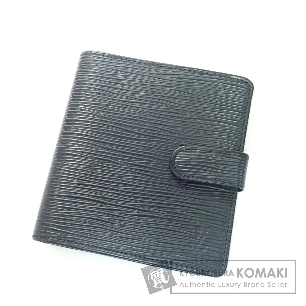 LOUIS VUITTON 廃盤品 二つ折り財布(小銭入れあり) エピレザー メンズ 【中古】【ルイ・ヴィトン】
