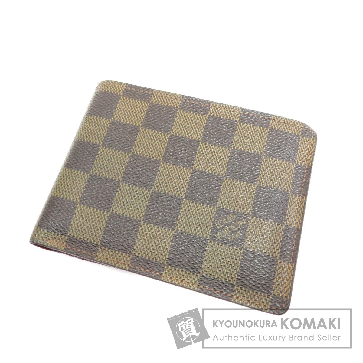LOUIS VUITTON N60011 ポルトフォイユ・フロリン 二つ折り財布(小銭入れあり) ダミエキャンバス ユニセックス 【中古】【ルイ・ヴィトン】