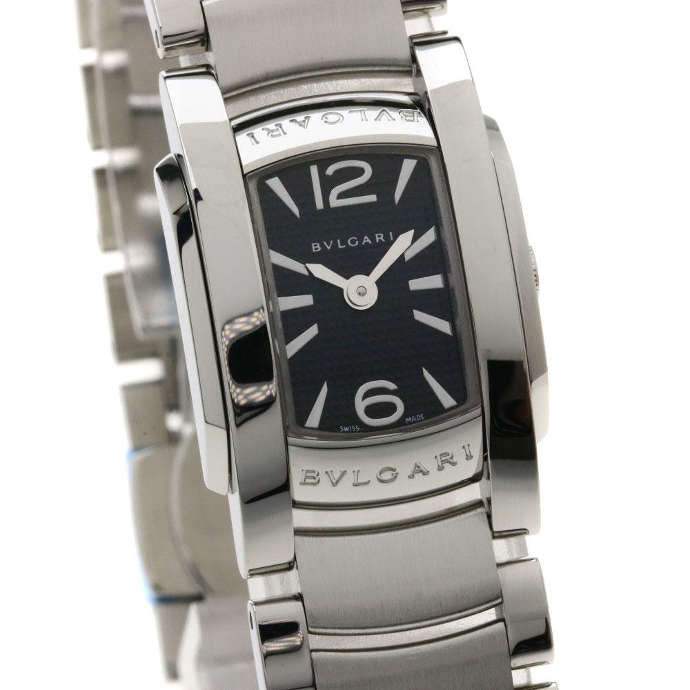 competitive price 2d4ce 0f94a 出産祝い BVLGARI アショーマD 腕時計 ステンレス/SS レディース ...