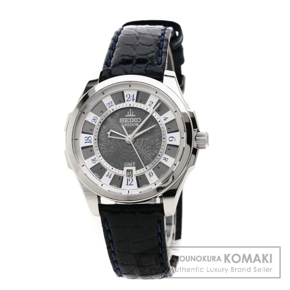 SEIKO クレドール GCBZ997/8L36-00A0 腕時計 ステンレス/革 レディース 【中古】【セイコー】