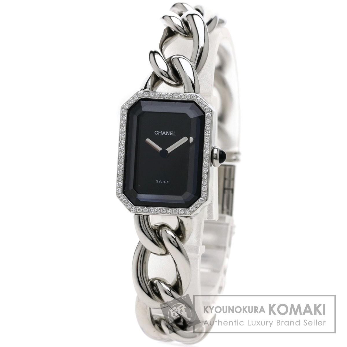 CHANEL  H3252 プルミエールL ダイヤモンド 腕時計 ステンレス/SS レディース 【中古】【シャネル】