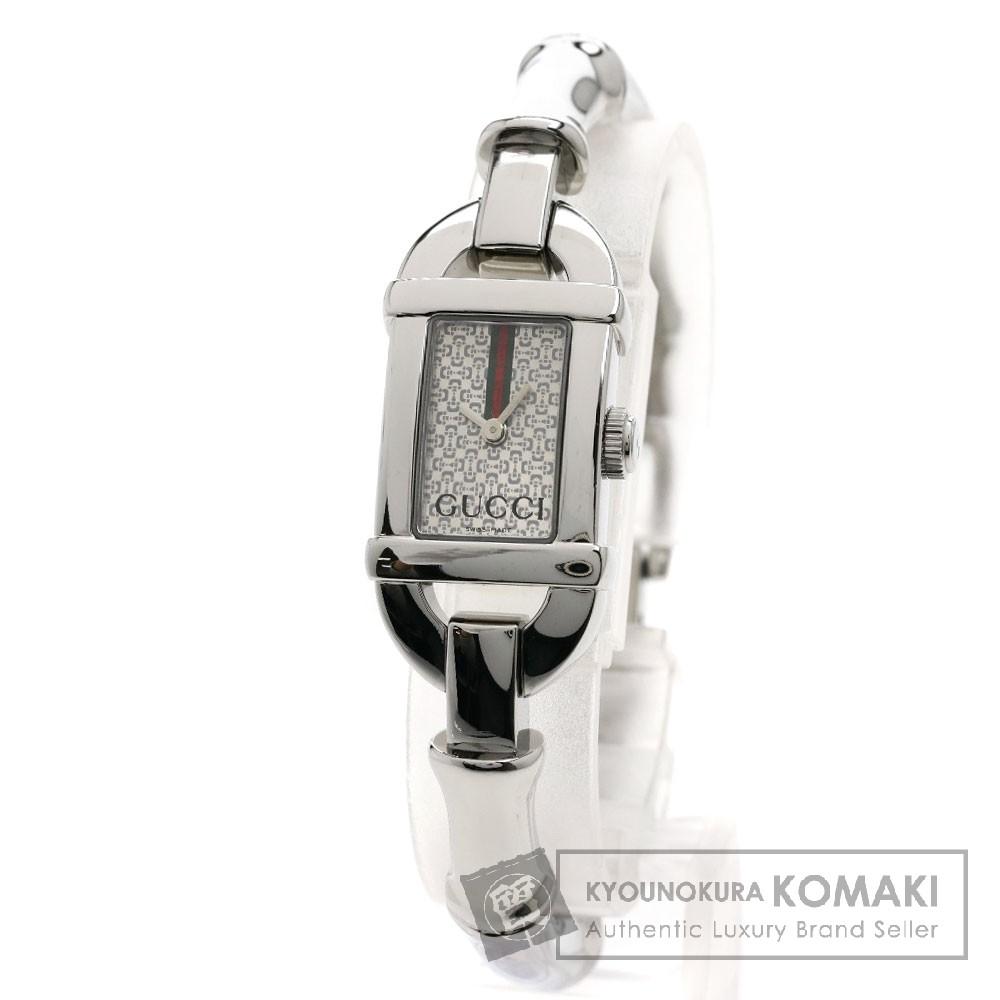GUCCI 6800L バンブー 腕時計 ステンレス/SS レディース 【中古】【グッチ】