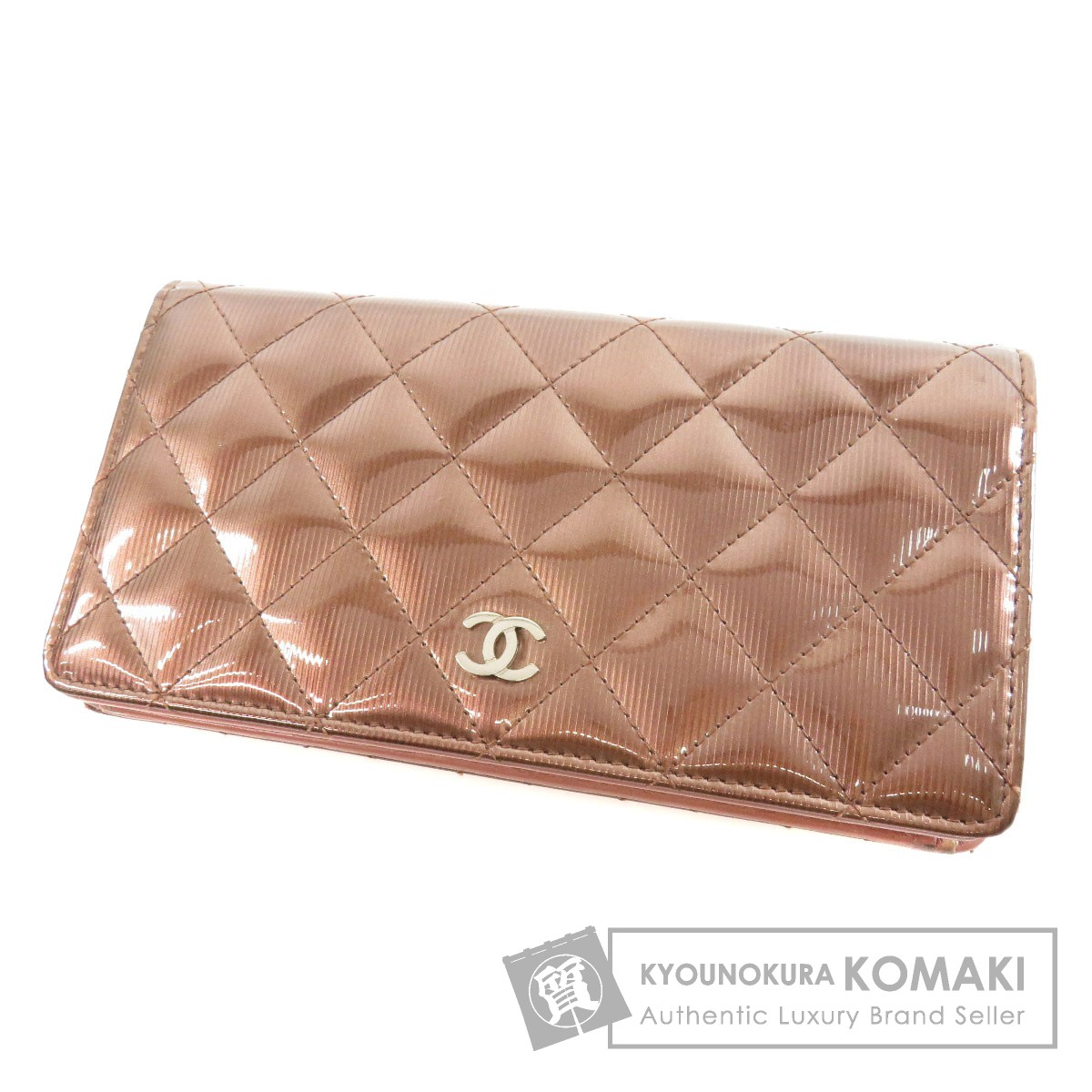 CHANEL マトラッセ 二つ折り財布(小銭入れあり) ビニール レディース 【中古】【シャネル】