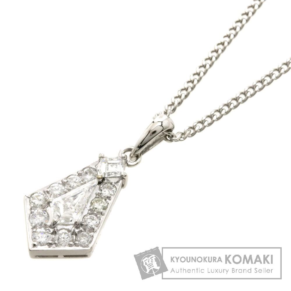 ダイヤモンド ネックレス プラチナPT900/PT850 4.9g レディース 【中古】