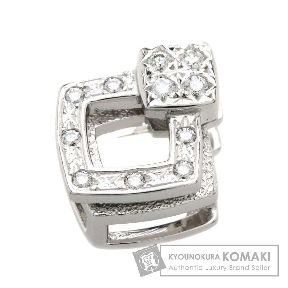 TASAKI ダイヤモンド ペンダント K18ホワイトゴールド レディース 【中古】【タサキ】