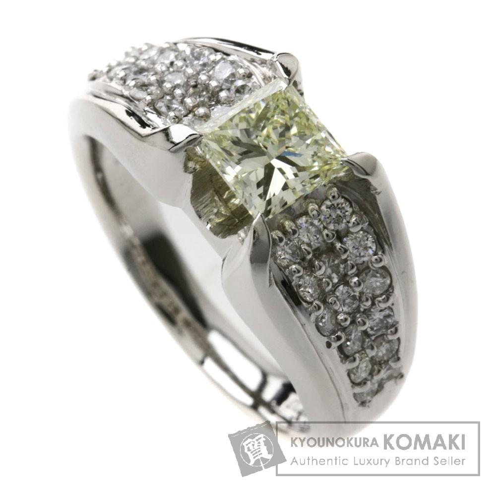 1.012ct ダイヤモンド リング・指輪 プラチナPT900 11g レディース 【中古】