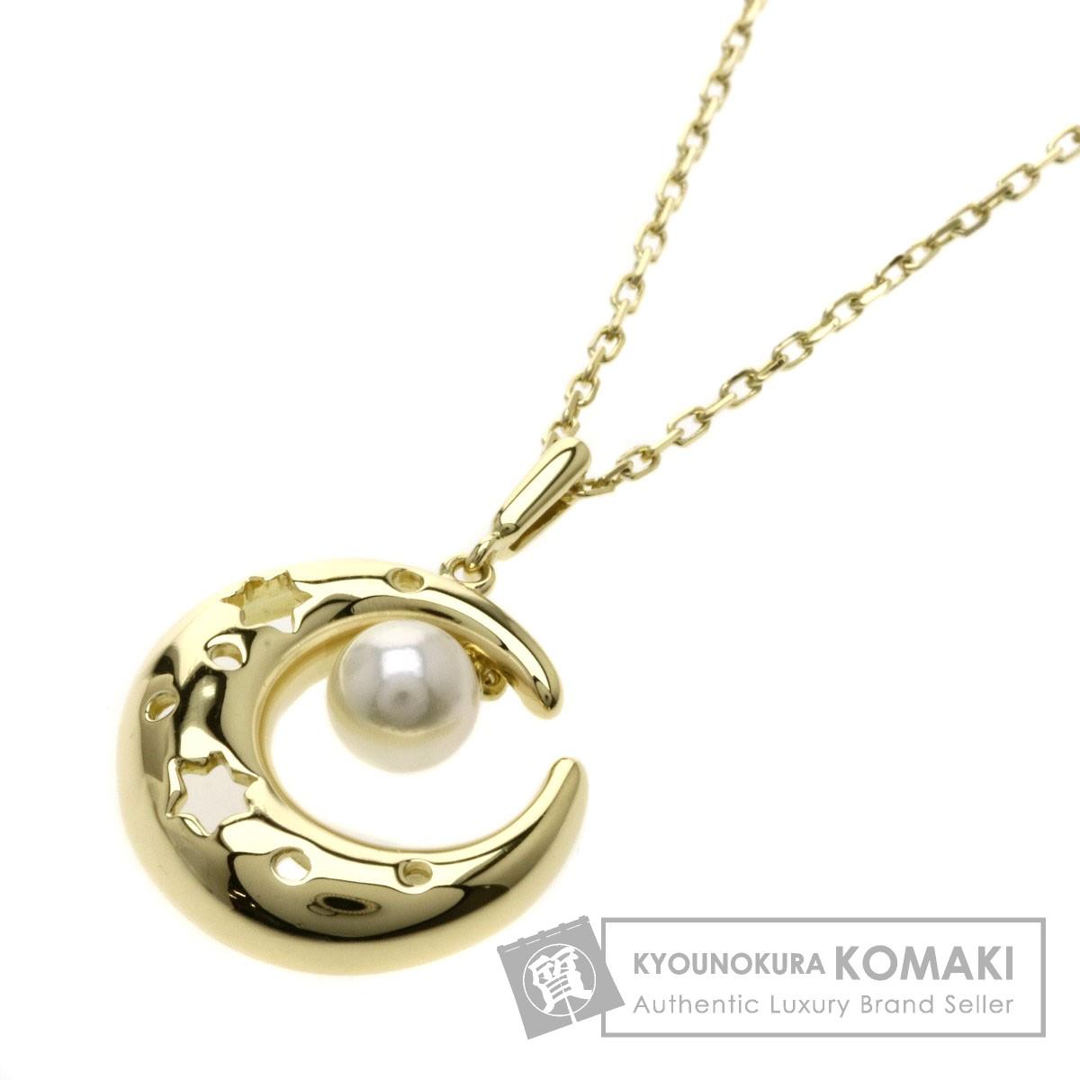 MIKIMOTO パール/真珠 ネックレス K18YG レディース 【中古】【ミキモト】