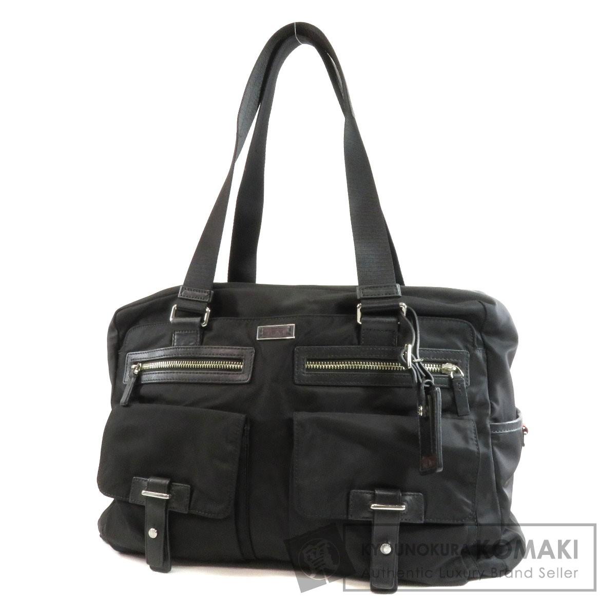 TUMI フロントポケット ビジネスバッグ ナイロン メンズ 【中古】【トゥミ】