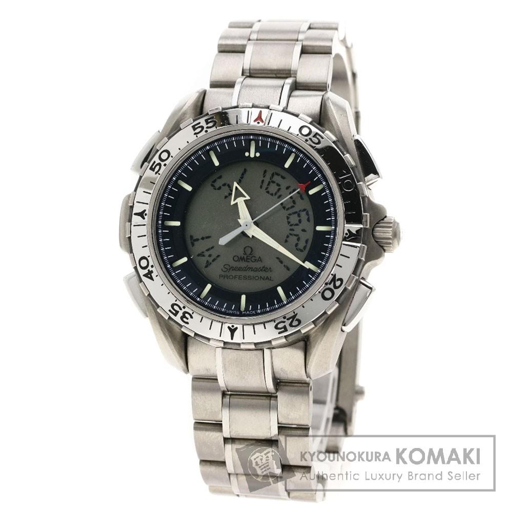 OMEGA Ref3290-50 スピードマスターX33 腕時計 チタン メンズ 【中古】【オメガ】