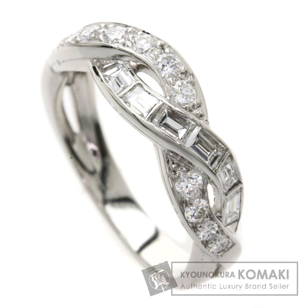 TIFFANY&Co. ダイヤモンド リング・指輪 プラチナ レディース 【中古】【ティファニー】