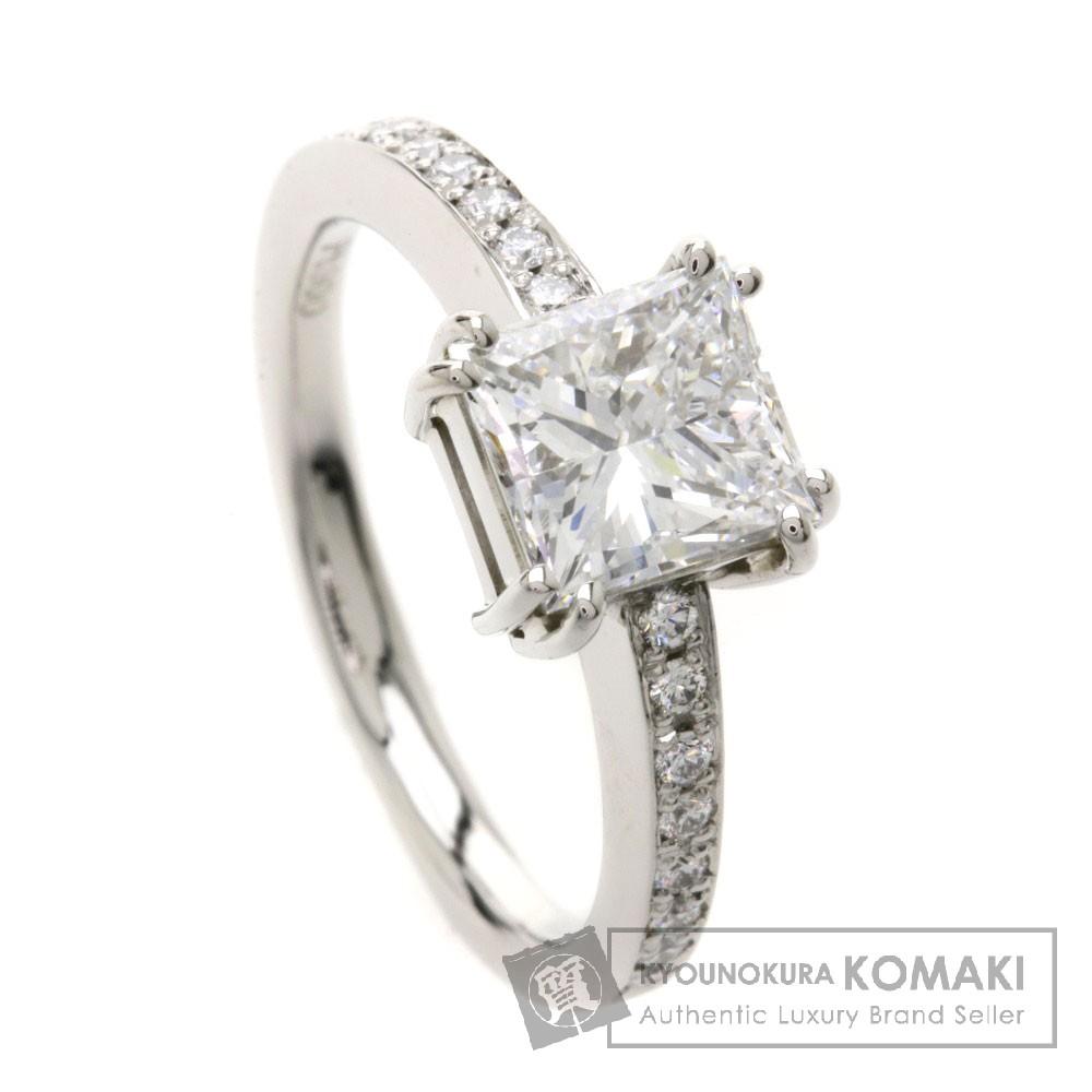 1.505ct ダイヤモンド リング・指輪 Pt900 5.3g レディース 【中古】