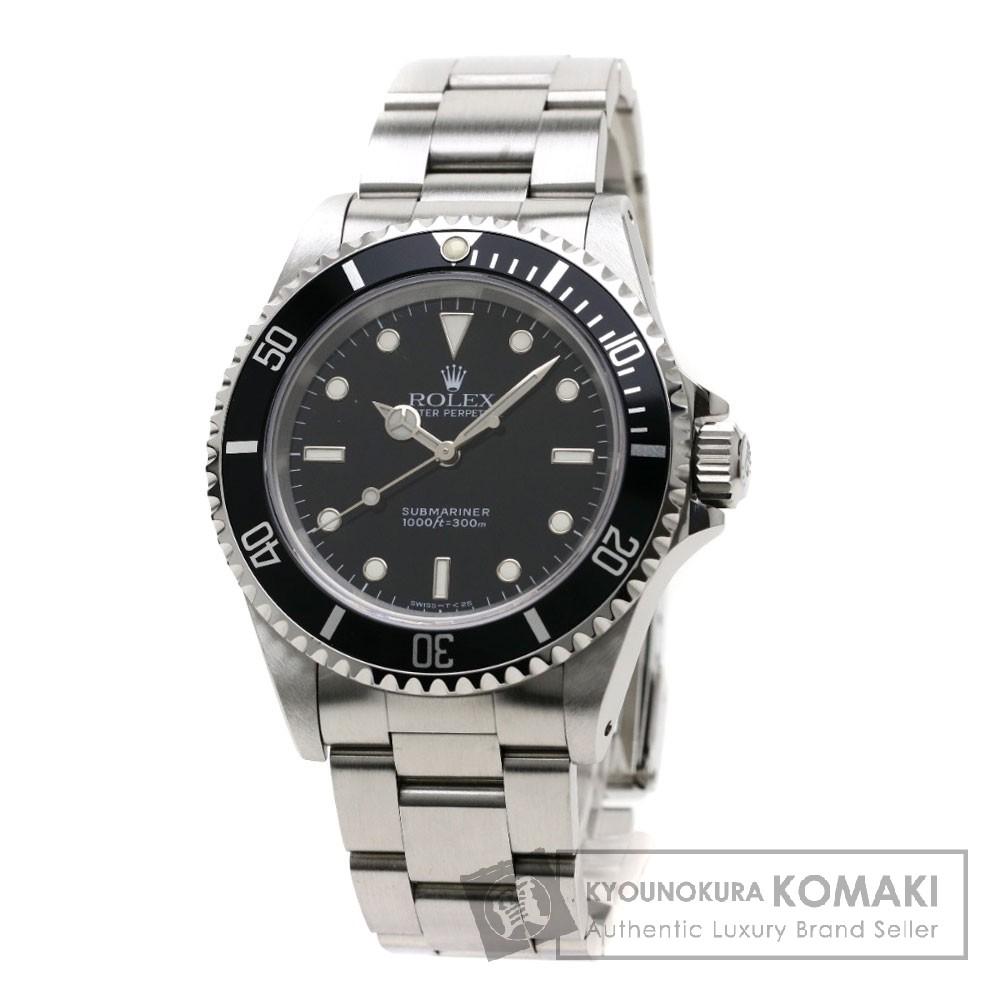 ROLEX 14060 サブマリーナ 腕時計 OH済 ステンレス メンズ 【中古】【ロレックス】
