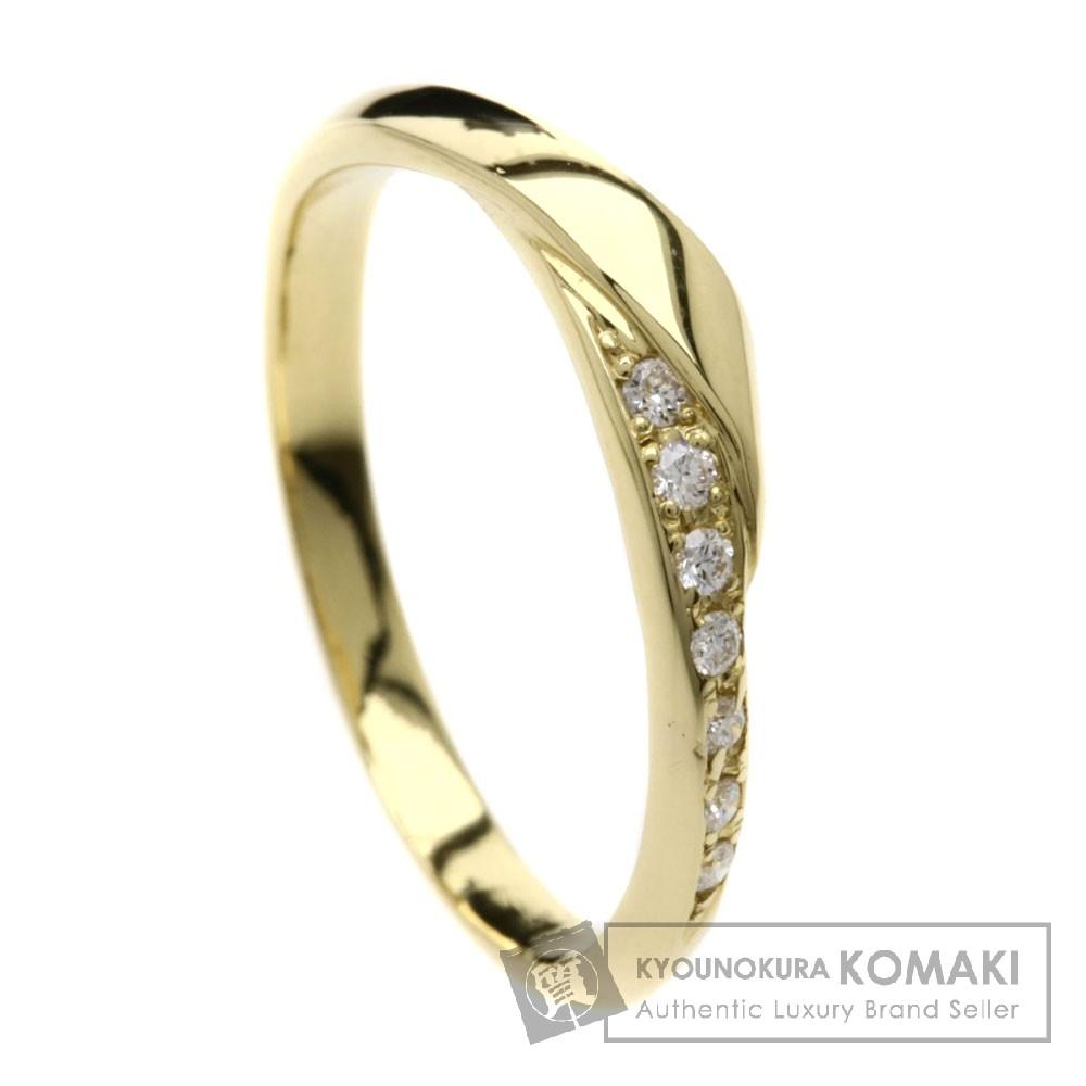 NIWAKA せせらぎ/ダイヤモンド リング・指輪 K18YG レディース 【中古】【ニワカ】
