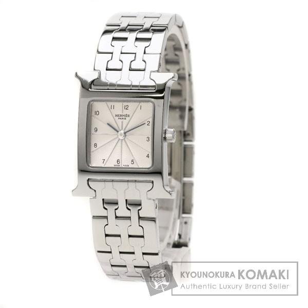 HERMES HH1.210 Hウォッチ 腕時計 SS レディース 【中古】【エルメス】
