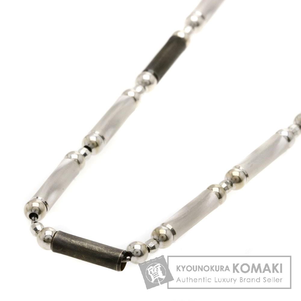 チェーン ネックレス K18ホワイトゴールド/PT850 16.4g レディース 【中古】