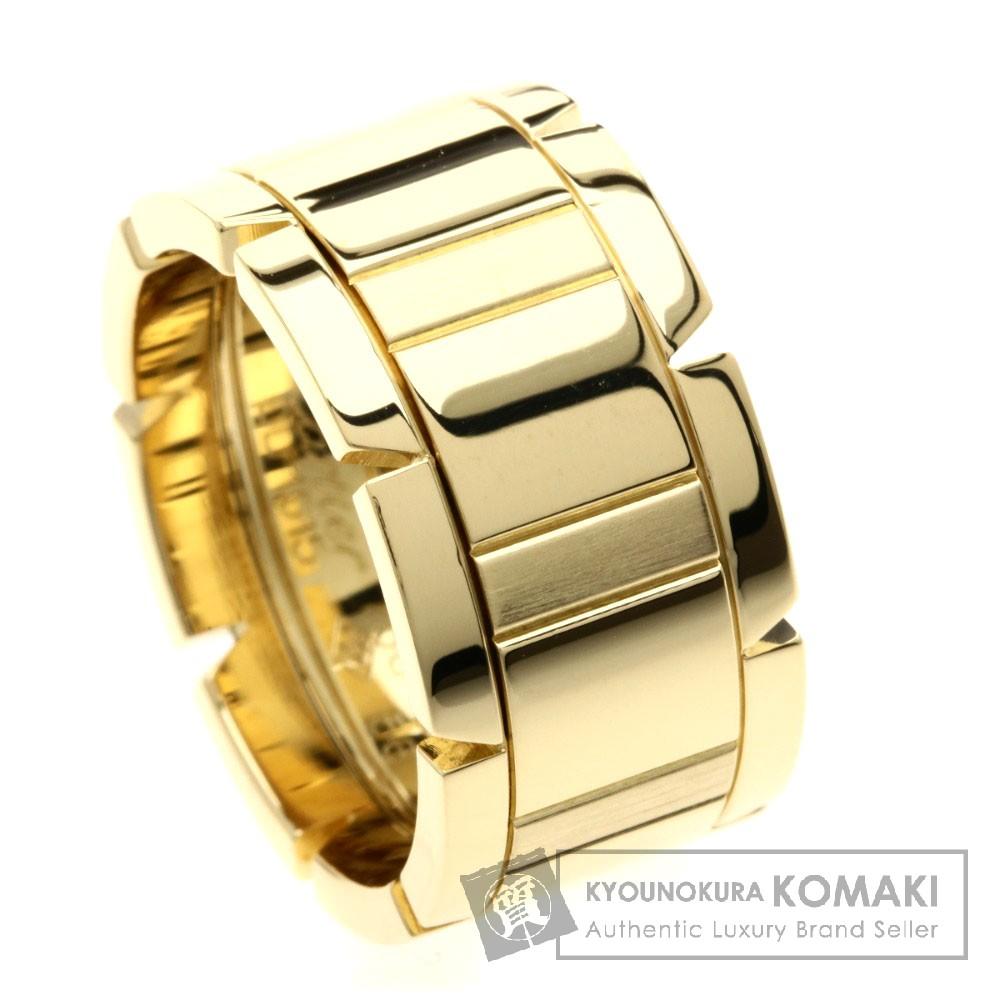 CARTIER タンクフランセーズ LM リング・指輪 K18YG レディース 【中古】【カルティエ】