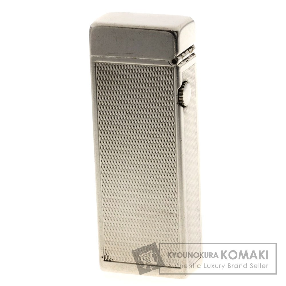 Dunhill RL1356 ラウンドトップ ライター 金属製 メンズ 【中古】【ダンヒル】
