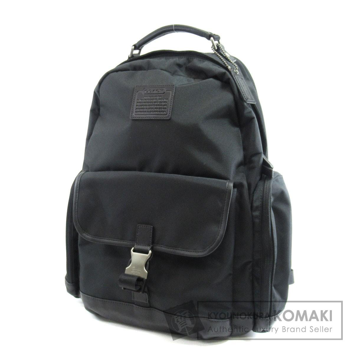 COACH F70574 ロゴマーク リュック・デイパック ナイロン素材 メンズ 【中古】【コーチ】