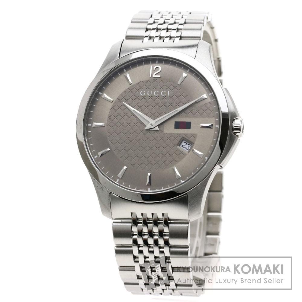 GUCCI 126.3 Gタイムレス 腕時計 SS/SS メンズ 【中古】【グッチ】