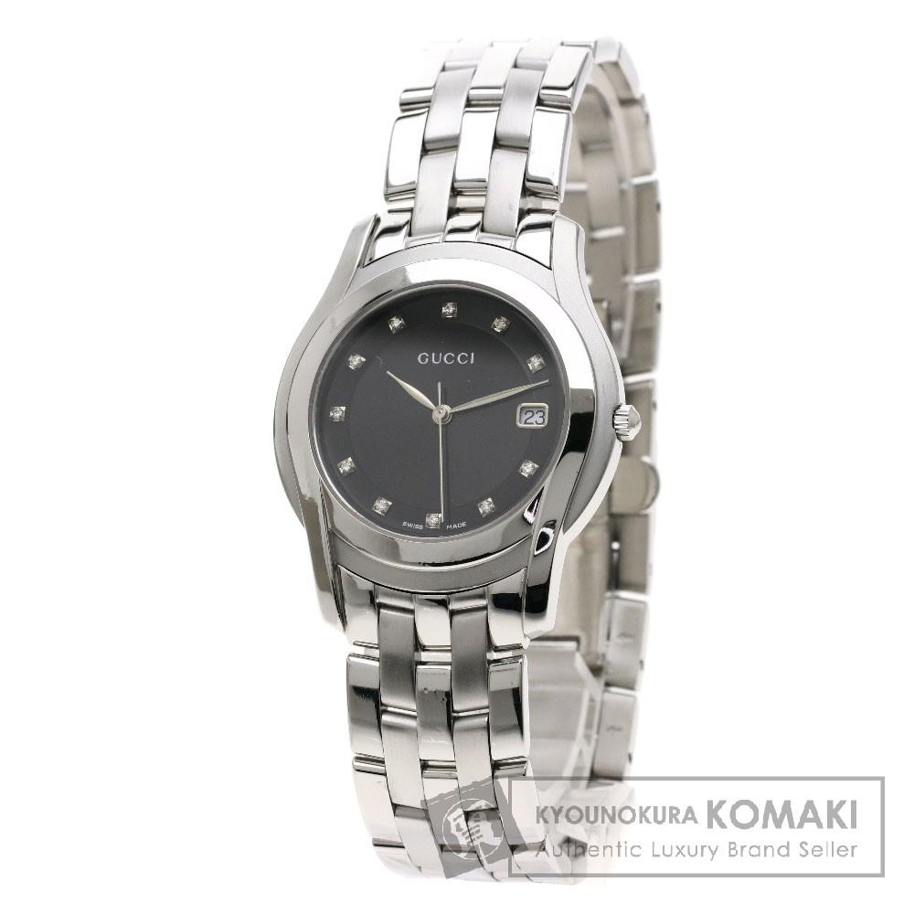 GUCCI 5500M 11Pダイヤモンド 腕時計 SS/SS メンズ 【中古】【グッチ】
