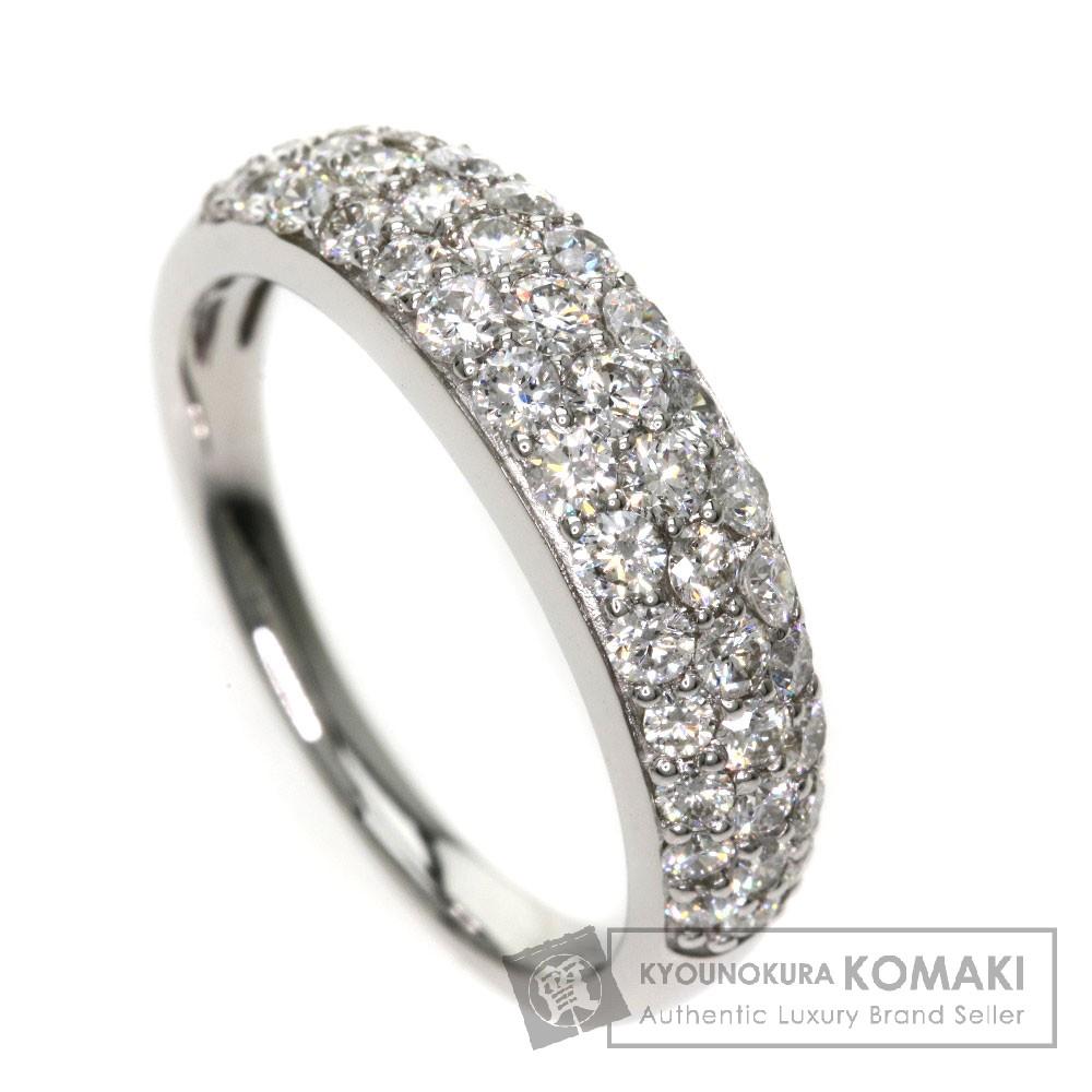 1ct ダイヤモンド リング・指輪 PT 5g レディース 【中古】