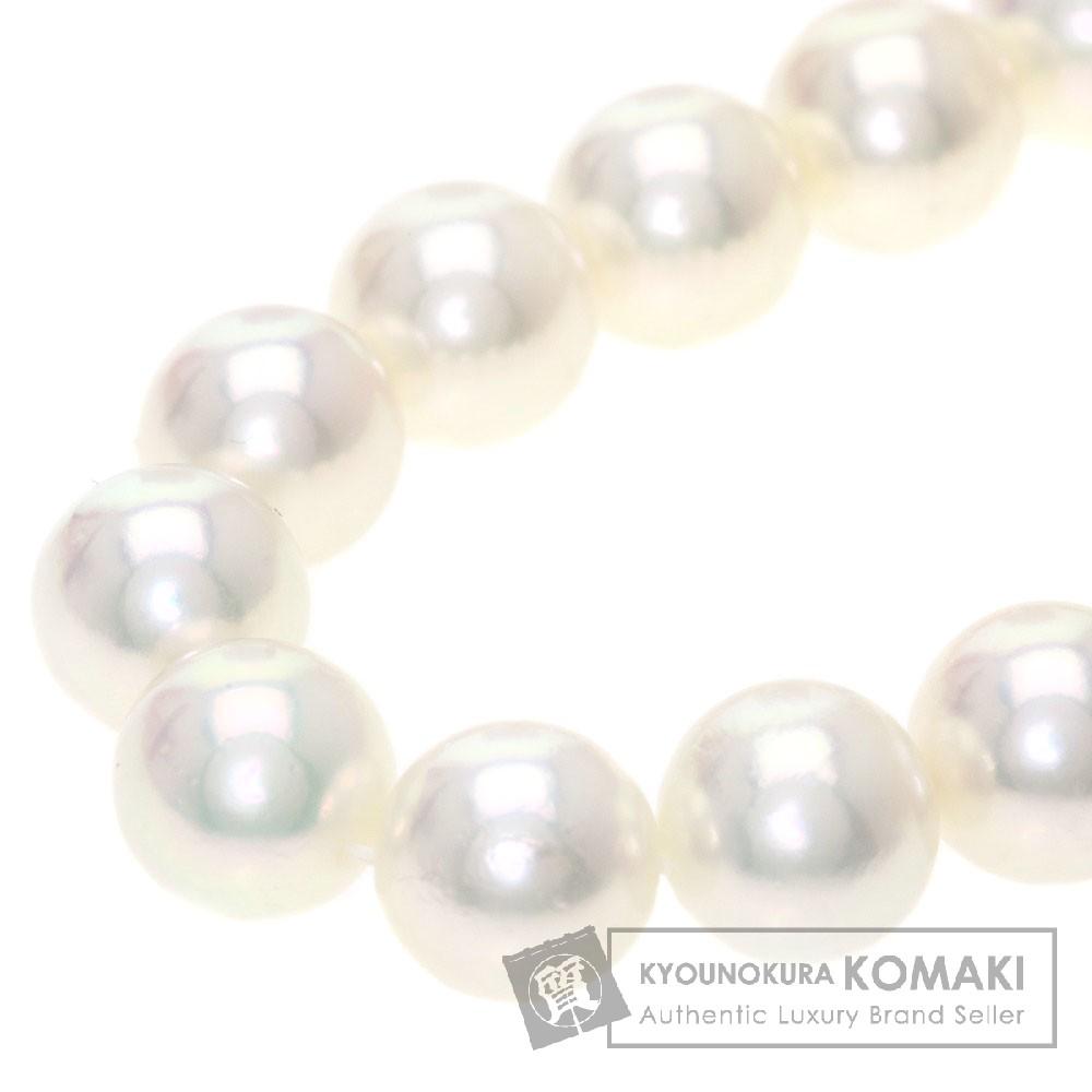 真珠/パール ネックレス K14WG 47.8g レディース 【中古】