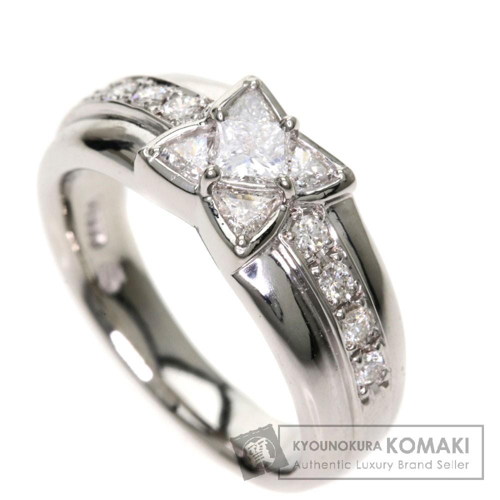 0.48ct ダイヤモンド リング・指輪 Pt900 9.5g レディース 【中古】