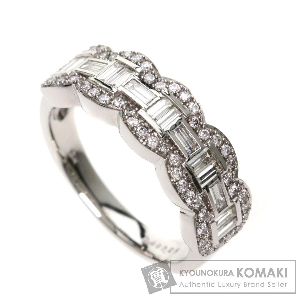 0.49ct ダイヤモンド リング・指輪 K14WG 4.5g レディース 【中古】