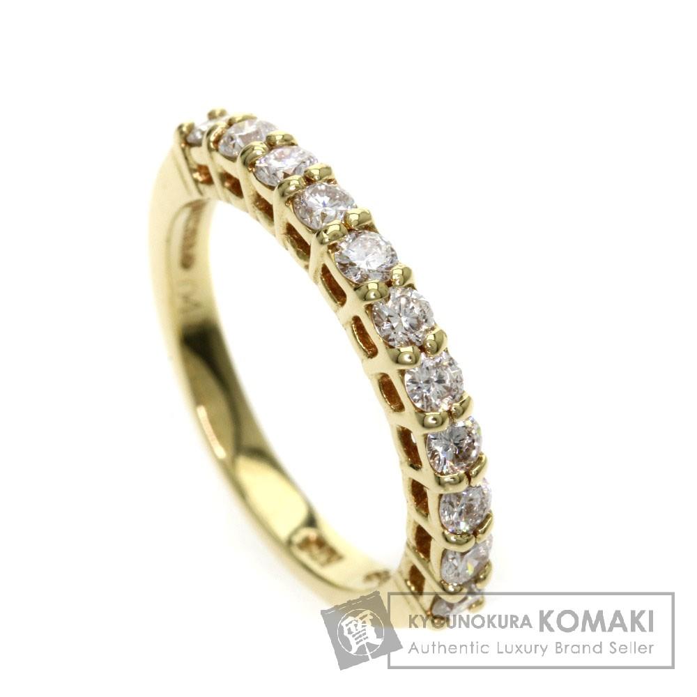 0.41ct ダイヤモンド/ピンキーリング リング・指輪 K18YG 2.3g レディース 【中古】