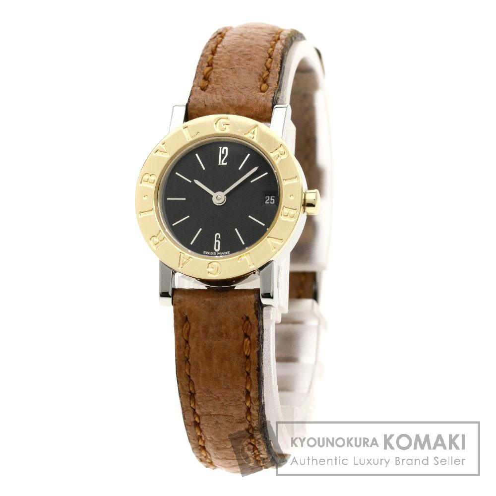 BVLGARI BB23SGLD ブルガリブルガリ 腕時計 SS/革 レディース 【中古】【ブルガリ】