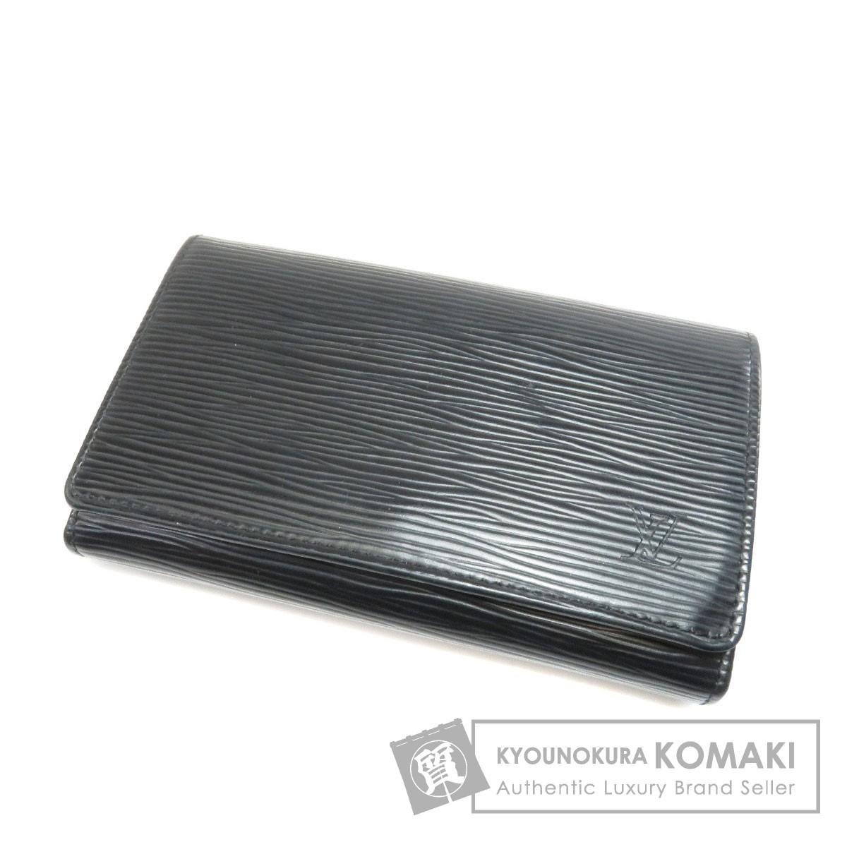 LOUIS VUITTON M63972 ポルトフォイユ・トレゾール 二つ折り財布(小銭入れあり) エピレザー レディース 【中古】【ルイ・ヴィトン】